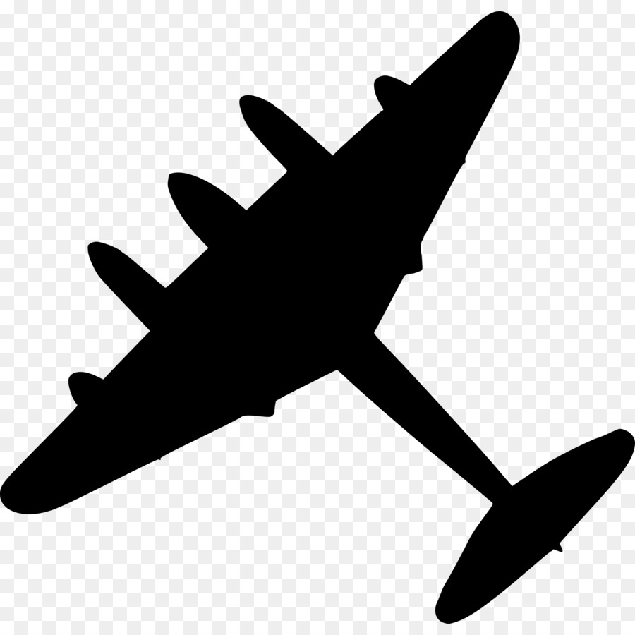 Airplane Silhouette clipart.