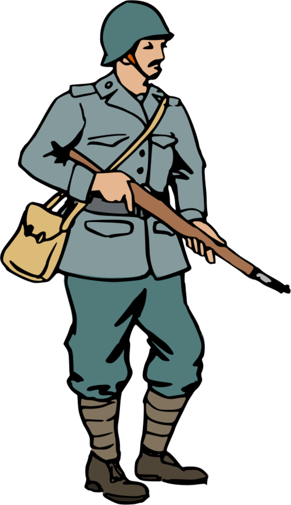 Ww2 Soldier Clipart.