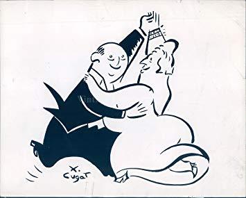 Amazon.com: 1941 Photo WW2 Era Xavier Cugat Dancing.