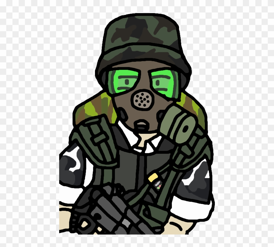 Gas Mask Clipart Template Ww2.