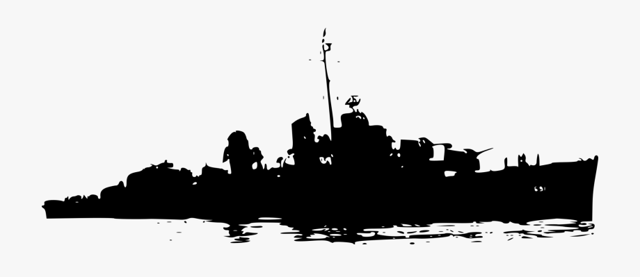 Battleship Naval Ship Vexel Free Commercial Clipart.