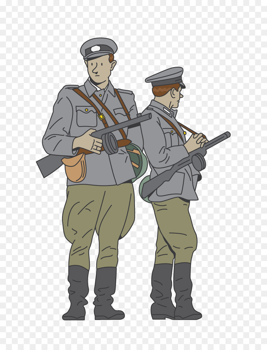 Download Free png Soldier Infantry Military Uniforms World War II.