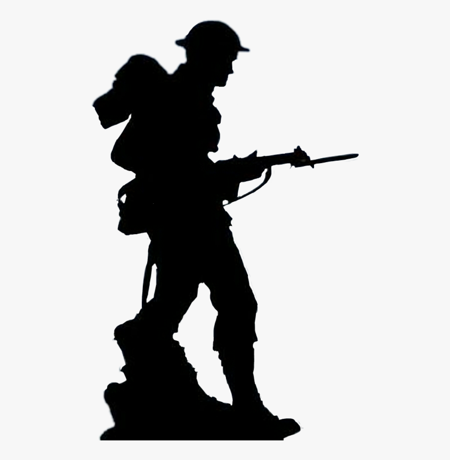 British Ww2 Soldier Silhouette #2953089.
