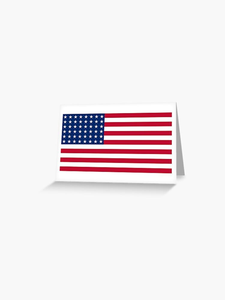 WORLD WAR II, FLAG, AMERICAN, Stars & Stripes, US Flag, 48 stars. Used 47  years, July 4, 1912, to July 3, 1959..