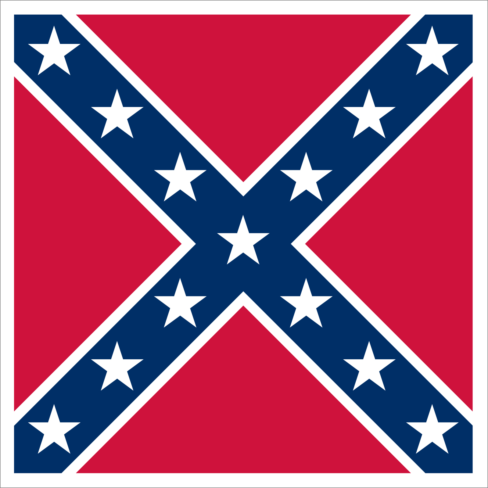 Flag of the Confederate States of America.