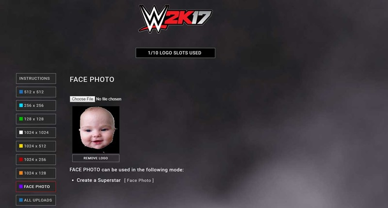 How to upload your face into WWE 2K17.