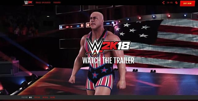 WWE 2K18 Guide: How to Use the Image Uploader.