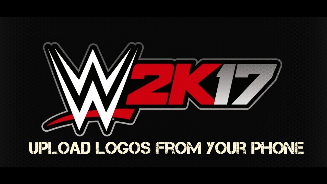 WWE2k17: Found a way to upload logos from the phone!.