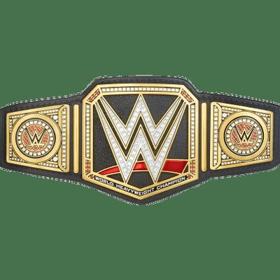 WWE Belt transparent PNG.