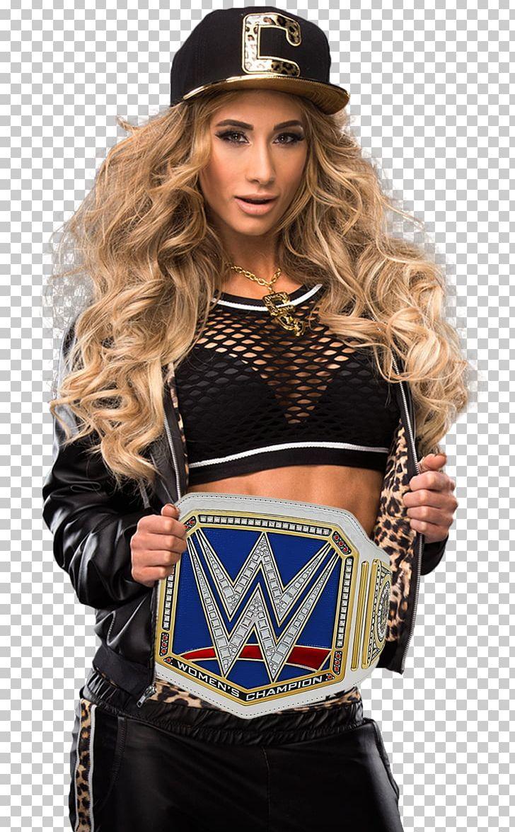 Carmella Total Divas WWE SmackDown Women\'s Championship.