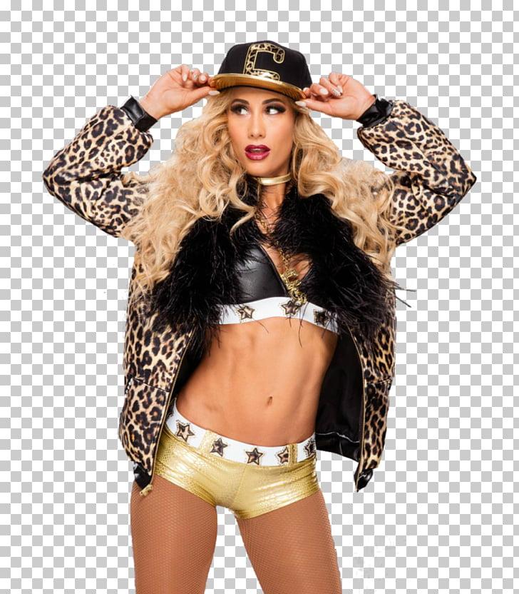 Carmella WrestleMania 33 WWE SmackDown Women\'s Championship.