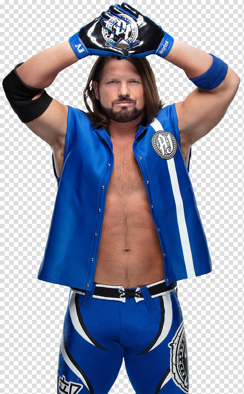 AJ Styles UNRELEASED transparent background PNG clipart.
