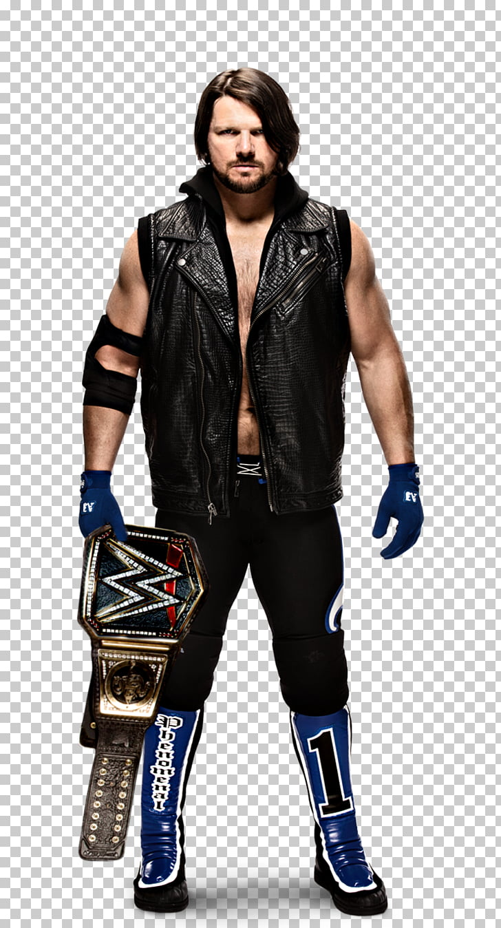 A.J. Styles WWE Championship WWE SmackDown WWE United States.