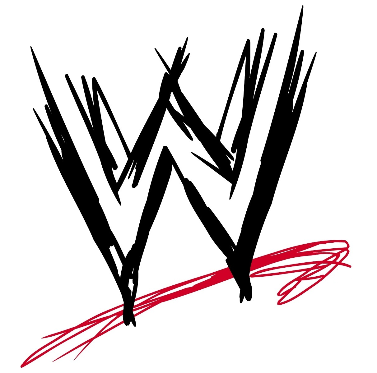 Clipart of the WWE Logo free image.