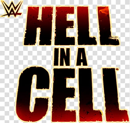 WWE Hell in a Cell Logo transparent background PNG clipart.