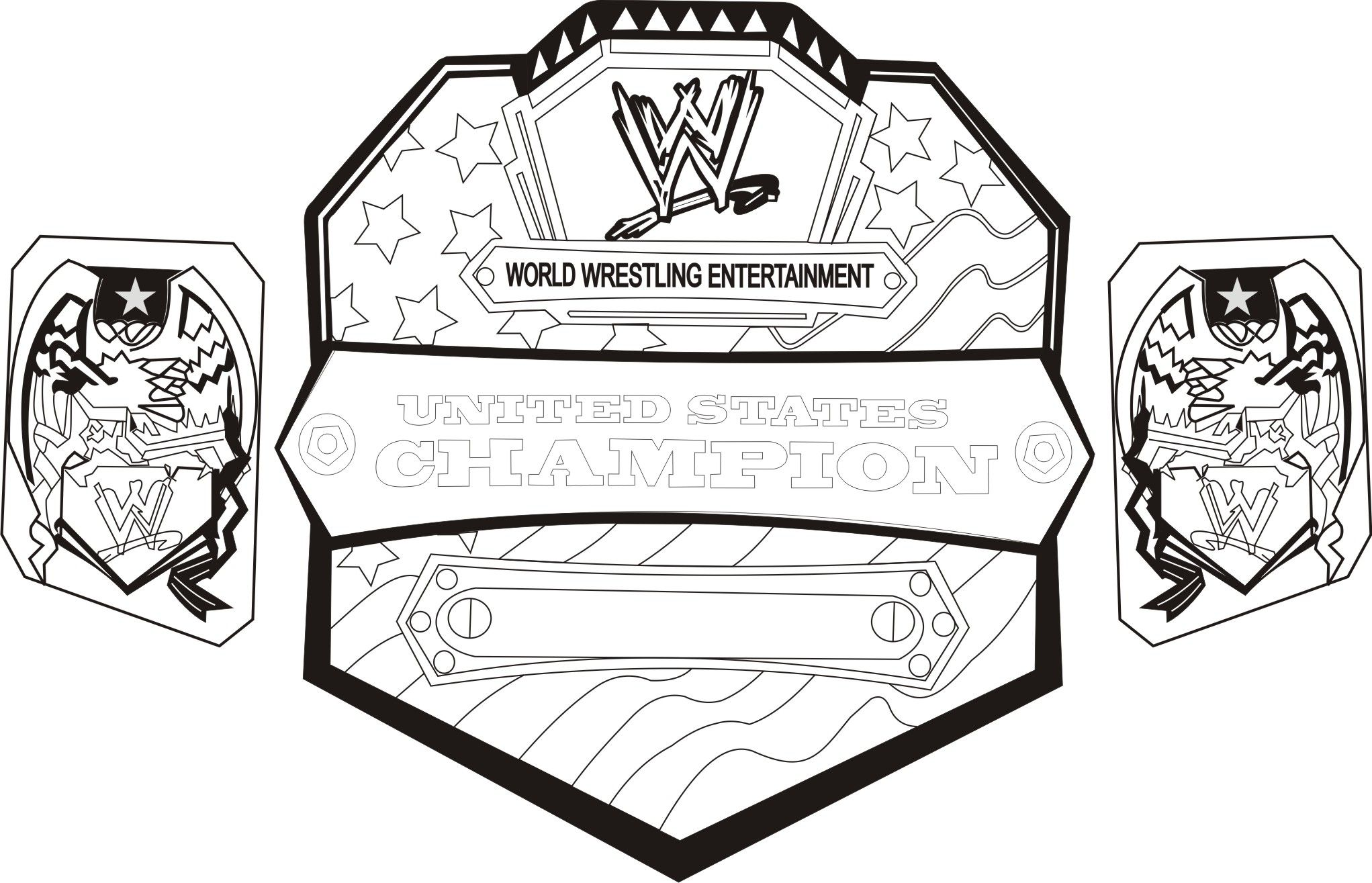 Wwe Royal Rumble Coloring Pages.