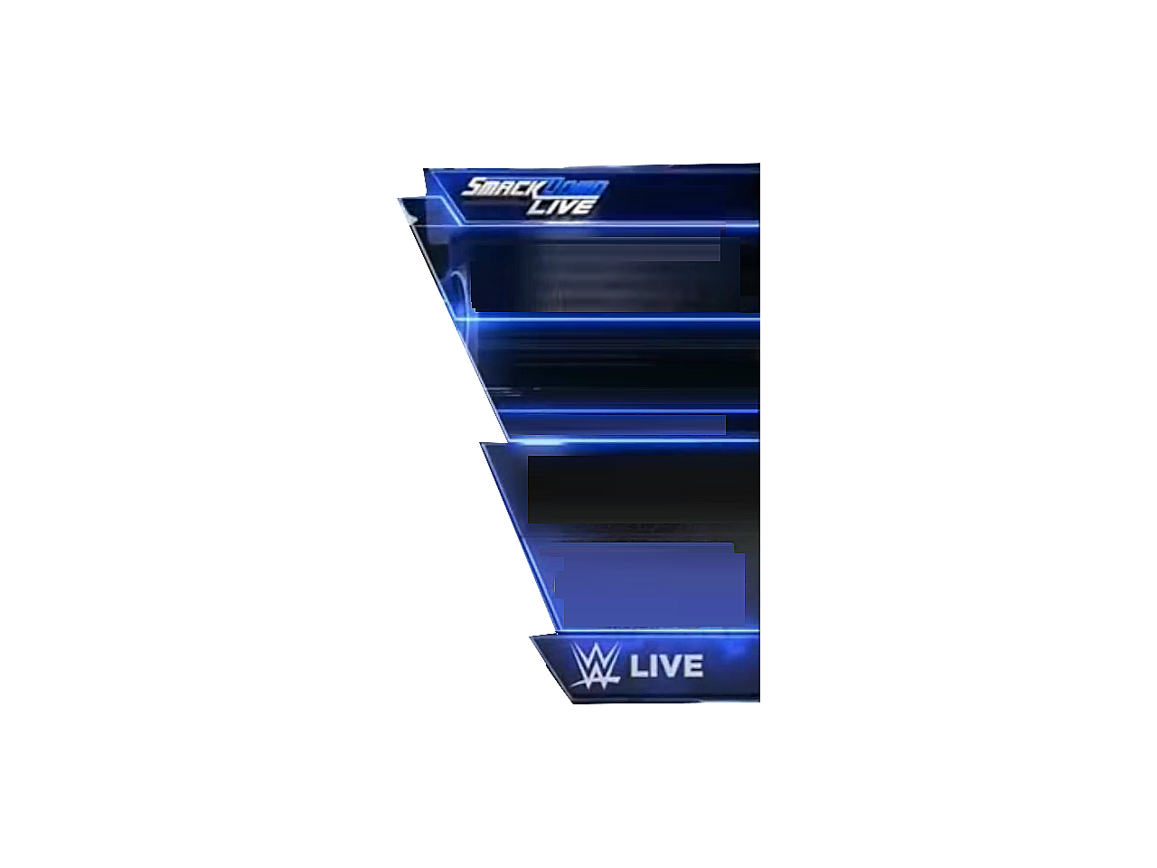 Renders Backgrounds LogoS: Smackdown Live Nameplate.