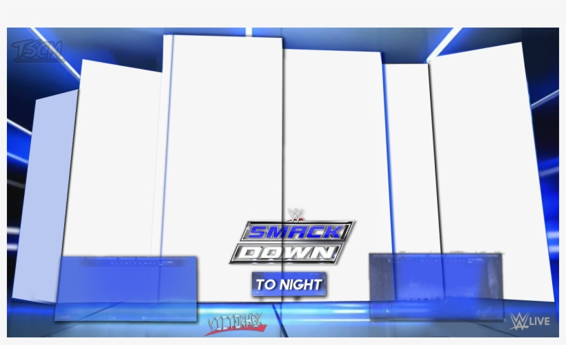 Images Of Wwe Raw Nameplate Template Png Smackdown.