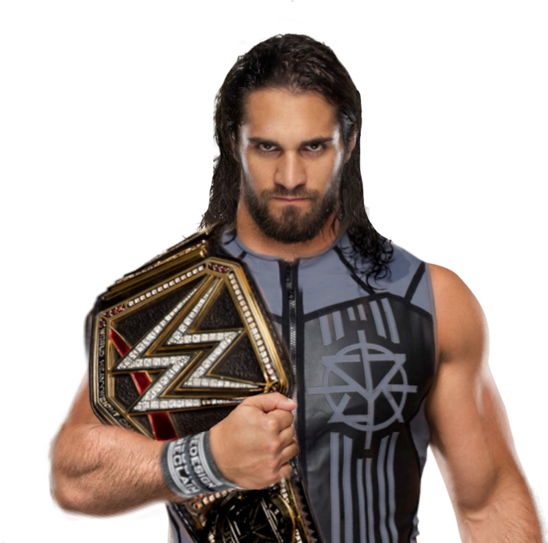 Download Free png SETH ROLLINS WWE CHAMPION PNG.