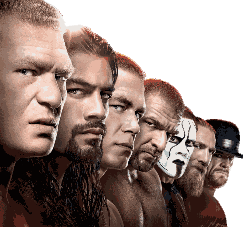 WWE Group Renders PNG.