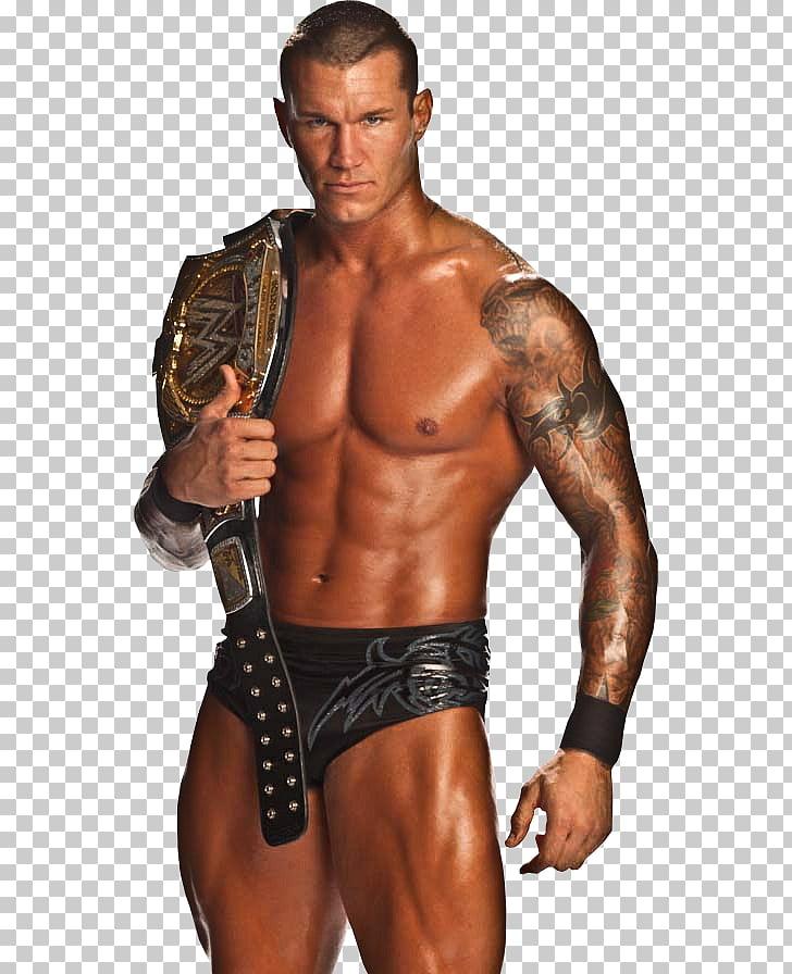 Randy Orton WWE Championship World Heavyweight Championship.