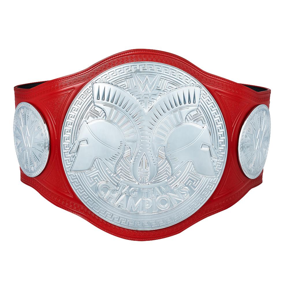 WWE Replica Championship Belts & Side Plates.