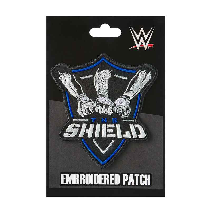 The Shield Embroidered Patch.