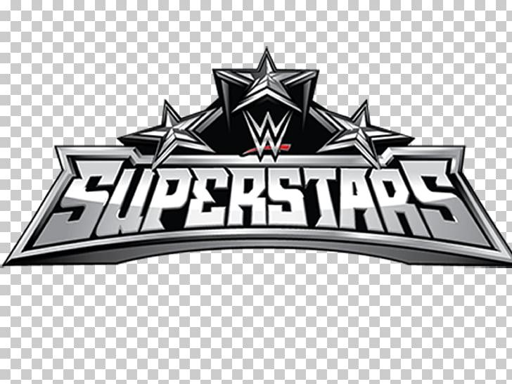Logo Top Trumps WWE Super Star Series 1, Super Deluxe, Blue.