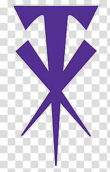 O WWE Superstars, purple logo transparent background PNG.