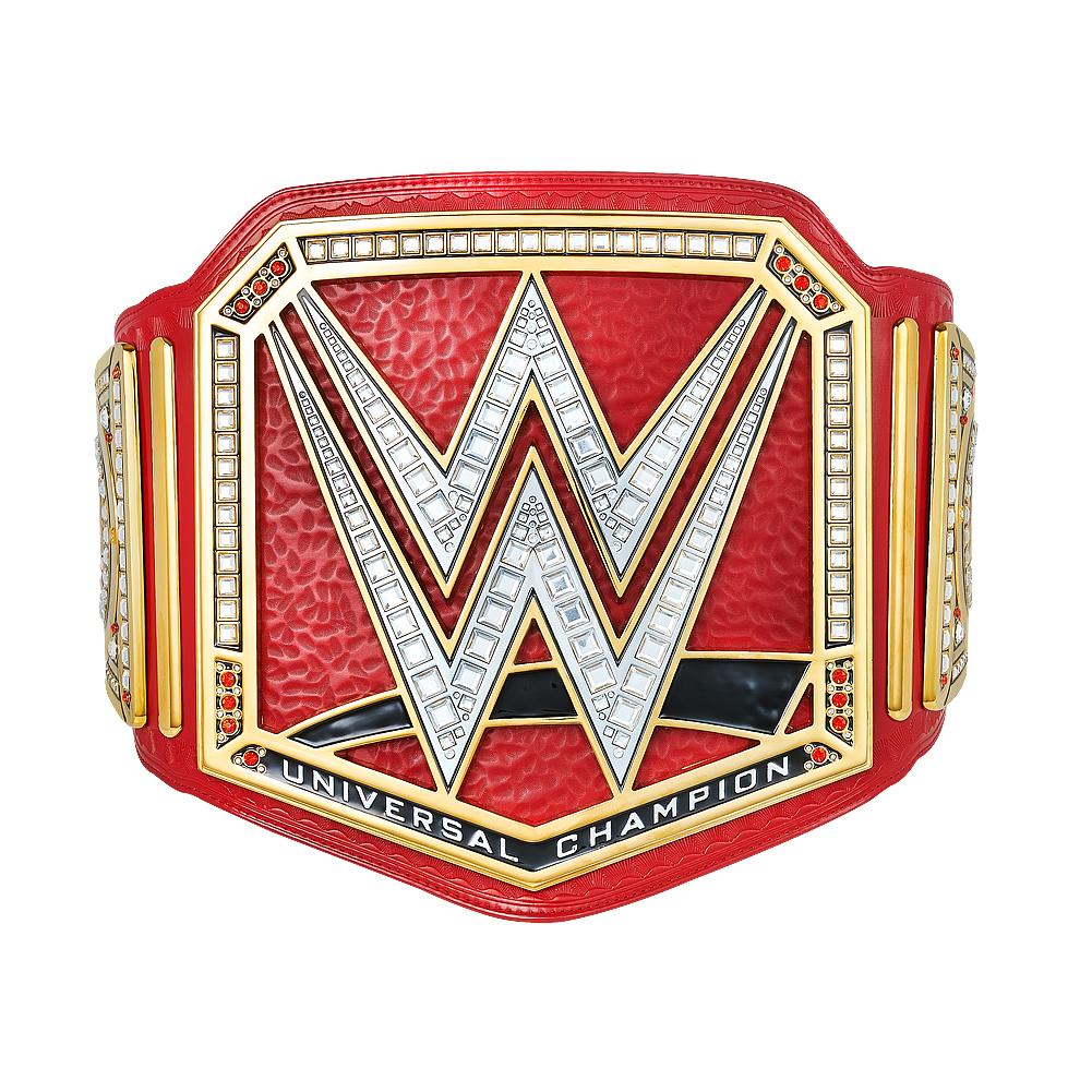 Universal Championship Replica Title.