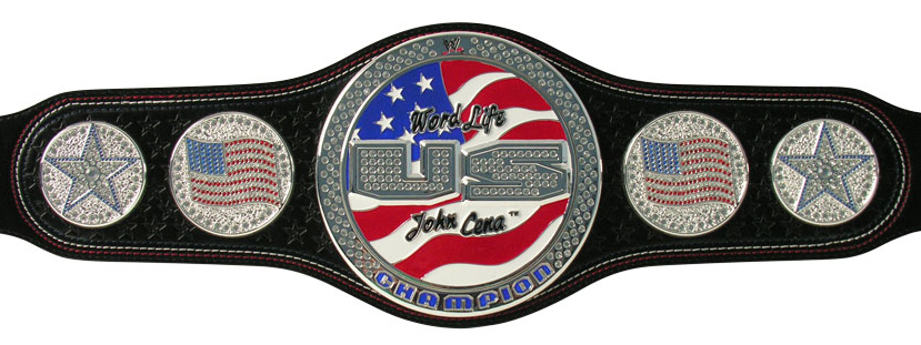All 18 Current Designs For WWE Championship Belts For Raw.