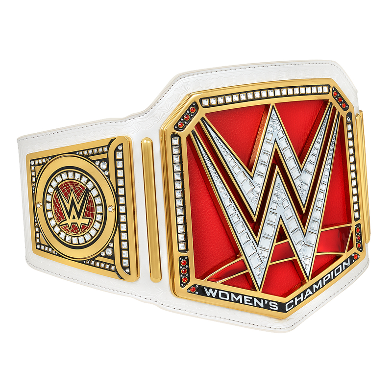 The New WWE Women's Championship Title Belt (2016).