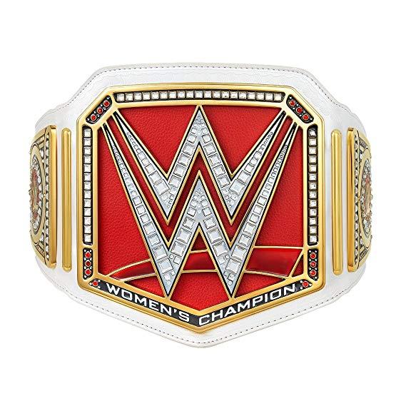 WWE Women\'s World Championship Commemorative Title Belt.