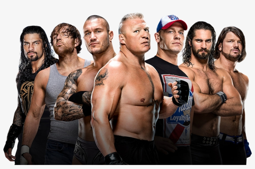 Download Free png Wwe Wrestlers Group Png Transparent PNG 974x599.