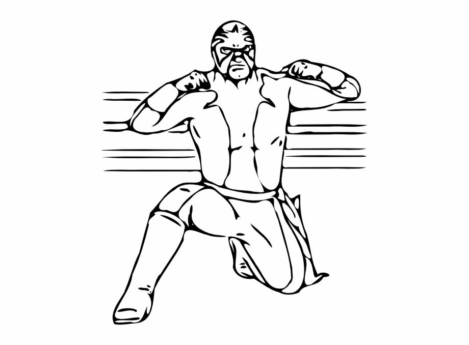 Masked Wrestler Clip Art At Vector Clip Art Png.