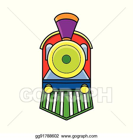Train front view clipart Transparent pictures on F.