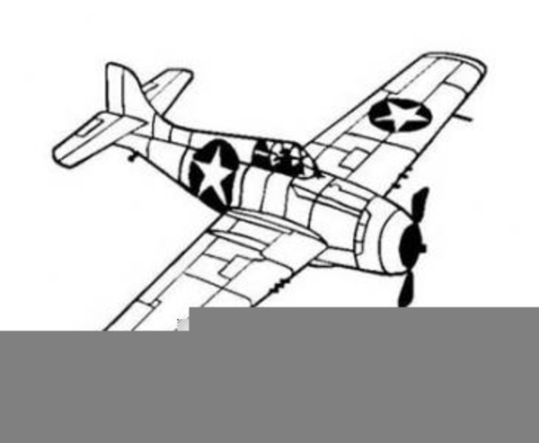 Wwii Aircraft Clipart.
