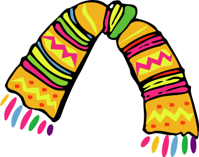 Clipart Of Scarf.