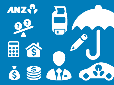 ANZ Bank Iconset by Hicksdesign on Dribbble.