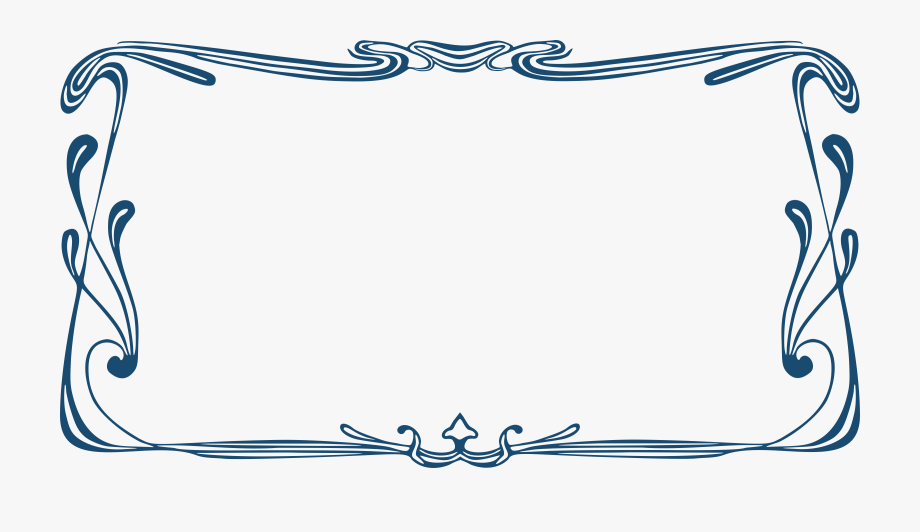 Decorative Border Clipart Text Box.