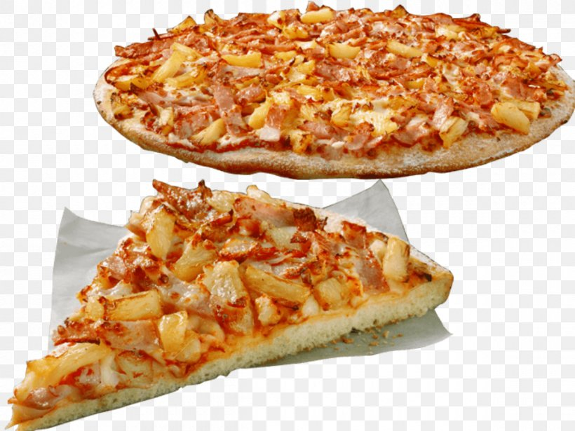 Hawaiian Pizza Bacon Cuisine Of Hawaii Domino\'s Pizza, PNG.