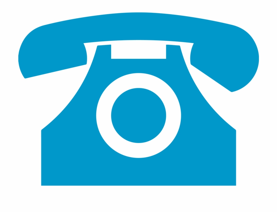 Blue Phone Png.