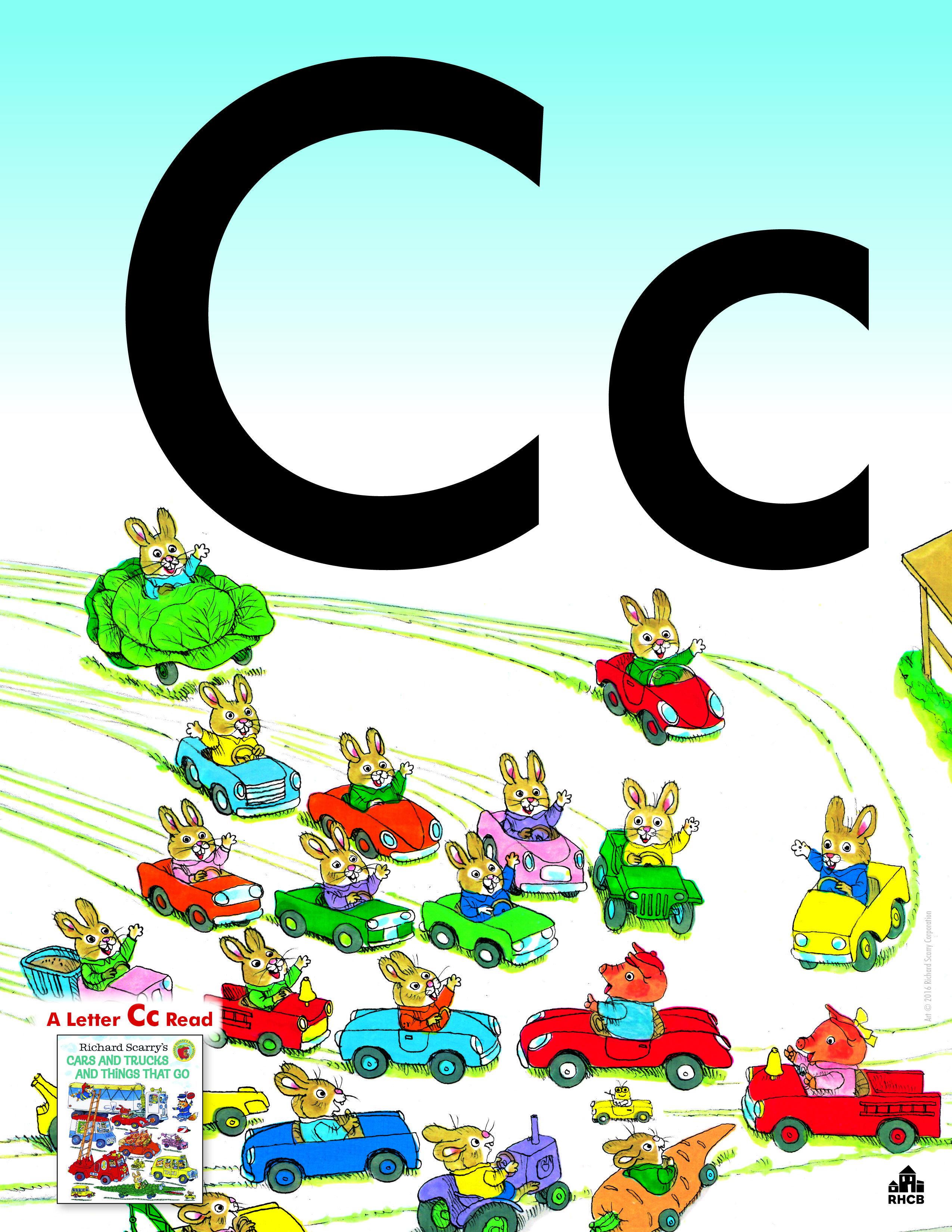 Letter Cc Card.