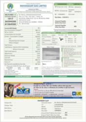 Mahanagar Gas Limited Bills Advertising.