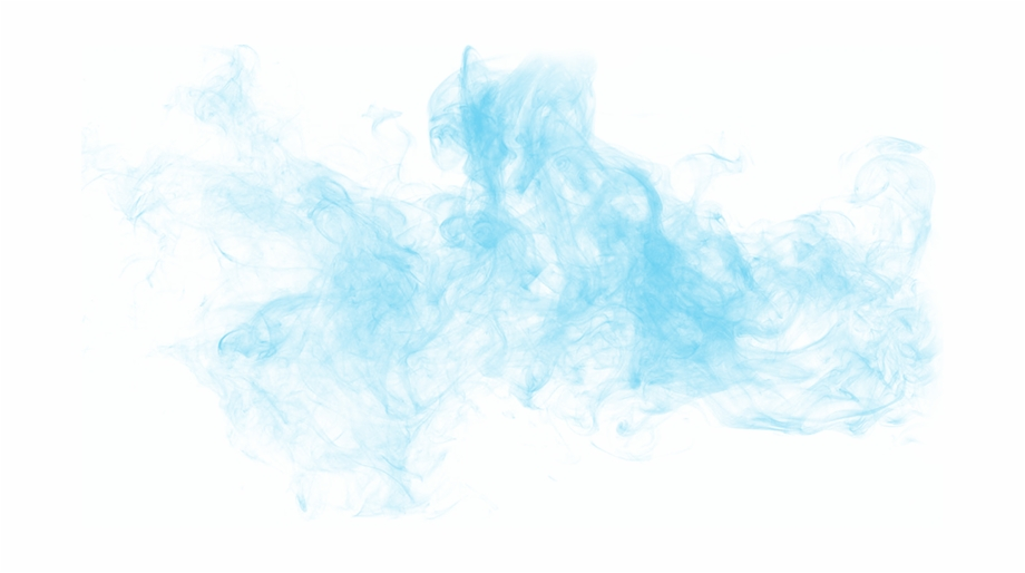 Blue Smoke Background Png.