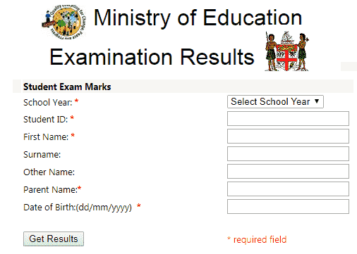 Ministry Of Education Exam Results 2018.