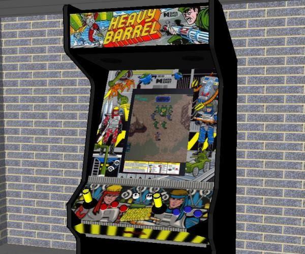 Retro Video Game Arcade.