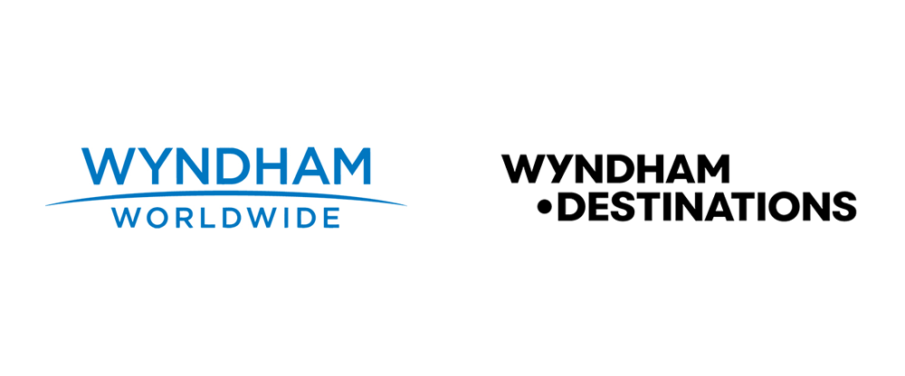 Brand New: New Logo and Identity for Wyndham Destinations by Siegel+Gale.
