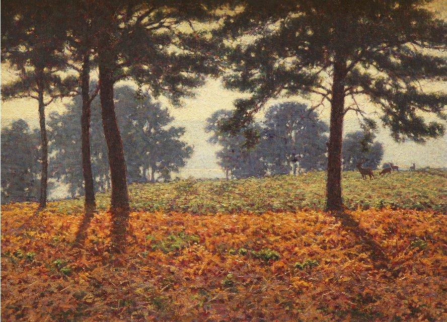 File:'Evening Shadows' by Wynford Dewhurst, 1899.jpg.