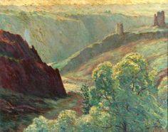 Gratia Artis Druck, Wynford Dewhurst, 75 x 62 cm auf Keilrahmen.
